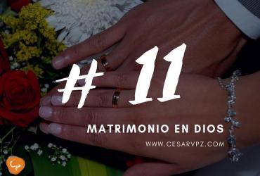 Matrimonio en Dios