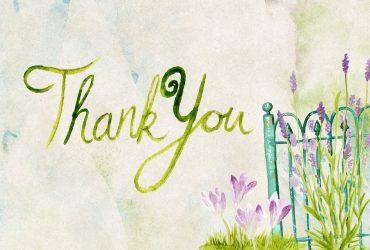 Agradece a los tuyos